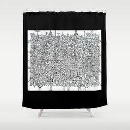 You Are Here #10 Shower Curtain