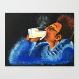 """""""HERE'S TO FEELIN' GOOD ALL THE TIME"""" Canvas Print"""