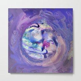 Abstract Mandala 207 Metal Print