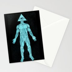 Seeing Eye, blue Stationery Cards