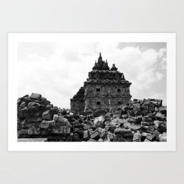 Temple Blocks Art Print