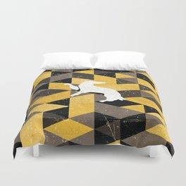 Hufflepuff House Pattern Duvet Cover