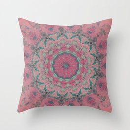 Fractalized Expressionism - II Throw Pillow