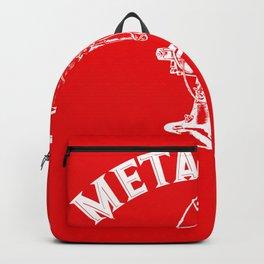 Metal Fan Fan Pun Funny gift Backpack