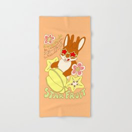 Jackalope and Starfruit Hand & Bath Towel