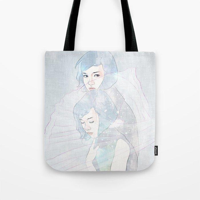 double universe Tote Bag