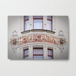 Art Nouveau Treasures - Hotel Metal Print