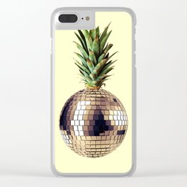 ananas party (pineapple) Clear iPhone Case