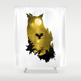 A Melancholy Song Shower Curtain