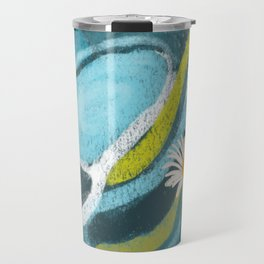 Daisy Vortex Travel Mug
