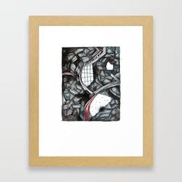 Window of Opportunity  Framed Art Print