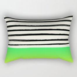 Lightning x Stripes Rectangular Pillow