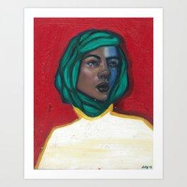Karine Art Print