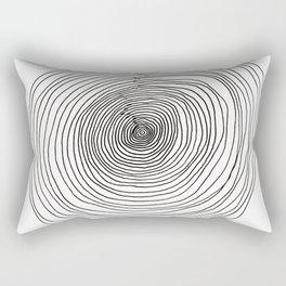 Concentric Circles Rectangular Pillow