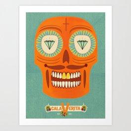 Calaverita. Art Print