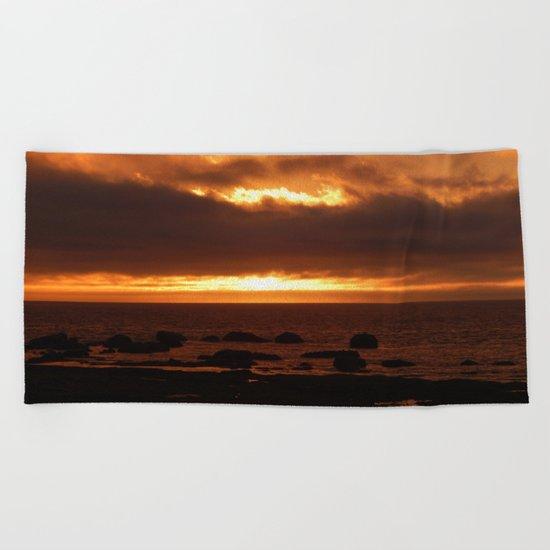 Sensational Sunset Beach Towel