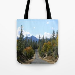 Ewing Reservoir in the Fall... Tote Bag