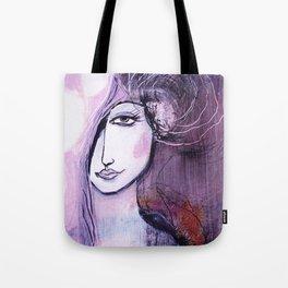 emerging angel Tote Bag