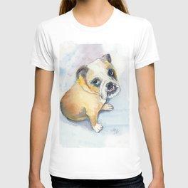 Sweet Bulldog Puppy T-shirt