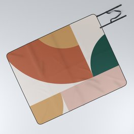 Abstract Geometric 13 Picnic Blanket