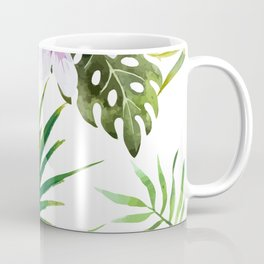 Tropical Bird Pattern 03 Coffee Mug