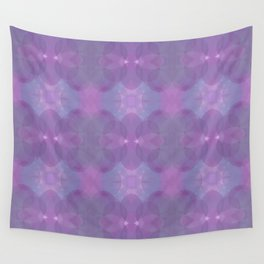 Lavender Pattern Wall Tapestry