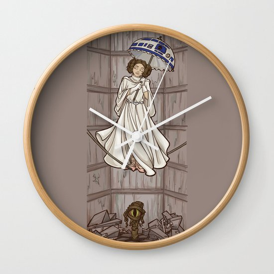 Leia's Corruptible Mortal State Wall Clock