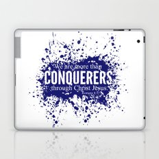 More Than Conquerers. Romans 8:37 Laptop & iPad Skin