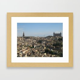 Toledo, Mi Amor Framed Art Print