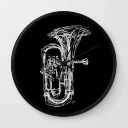 Euphonium Wall Clock