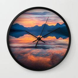 Until Daybreak Comes Wall Clock