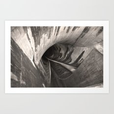 Dam Reticulation - the Void Art Print