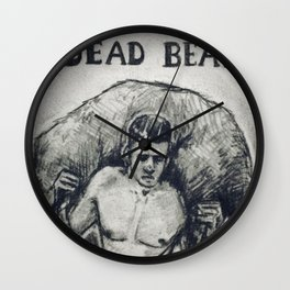 Dead Beat Wall Clock