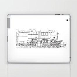 Sketchy train art Laptop & iPad Skin
