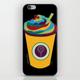 Milkshake - The Marvelous Colors of a Lollipop Collection iPhone Skin
