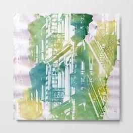 Travel - New York,fire escape Metal Print