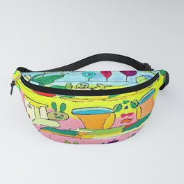 pic nic under the tree Fanny Pack