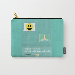 Emoji Carry-All Pouch
