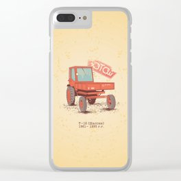 T 16 Clear iPhone Case