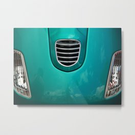 Ol Car Detail Metal Print