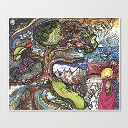 Resurrection Tree Canvas Print
