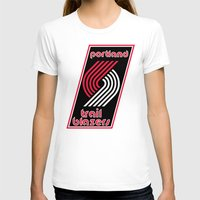 nba T-shirts featuring NBA - Trail Blazers by Katieb1013