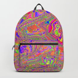 there's a lot going on here Backpack