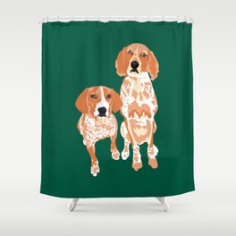 Gracie and George Shower Curtain