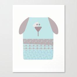 Baby dog Canvas Print