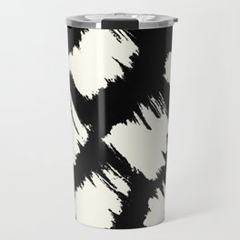 Tribal Brushed Dot Travel Mug