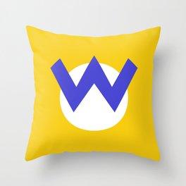 Nintendo Wario Throw Pillow