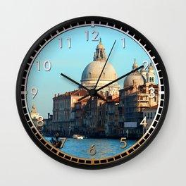 Santa Maria della Salute Wall Clock