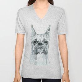 The Boxer Dog Miley Unisex V-Neck