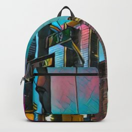 NYC Skyline at Sunset Backpack